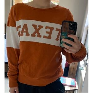 2/$25 Pink UT Longhorns Pullover Sweater